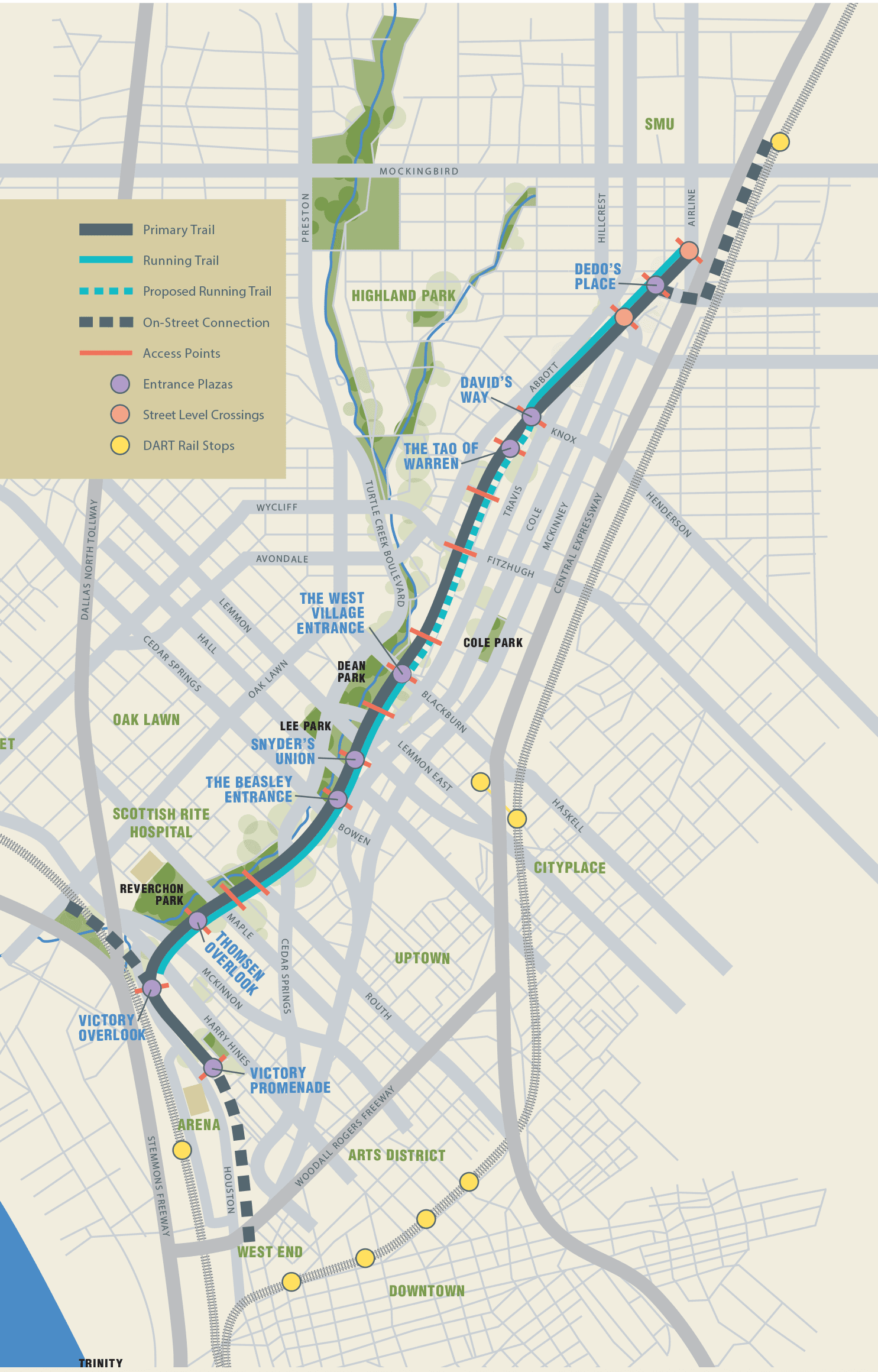 Map | Katy Trail